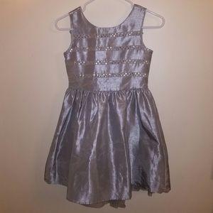 Gymboree Metallic Silver Dress